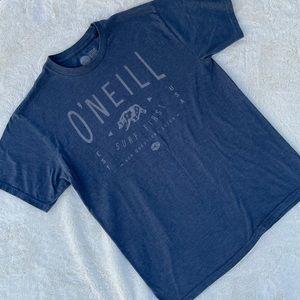 O'Neill Men's Blue T-Shirt Tee sz M